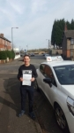 Aladine Ben passed with Craig Polles Driver Training