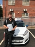 Alex Gilson passed with Craig Polles Driver Training
