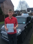 Alex Pargeter passed with Craig Polles Driver Training