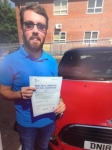 Alex Webb passed with Craig Polles Driver Training