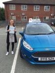 Alice Hall passed with Craig Polles Driver Training