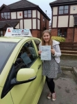 Alice Witherick passed with Craig Polles Driver Training