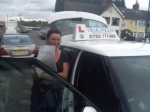 Alison passed with Craig Polles Driver Training