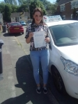 Amber Prime passed with Craig Polles Driver Training