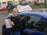 Amie passed with Craig Polles Driver Training