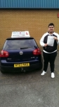Amir Yasin passed with Craig Polles Driver Training