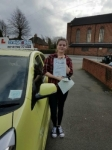 Amy Bayliss passed with Craig Polles Driver Training