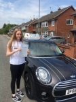 Amy Dawson passed with Craig Polles Driver Training