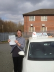 Amy Harvey passed with Craig Polles Driver Training