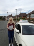 Amy Mountford passed with Craig Polles Driver Training