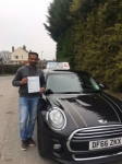 Anil passed with Craig Polles Driver Training