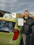 Anthony Hughes passed with Craig Polles Driver Training