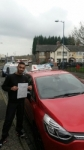 Aqib passed with Craig Polles Driver Training