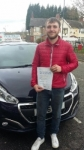 Arron Stanier passed with Craig Polles Driver Training