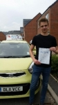 Bart Kuzba passed with Craig Polles Driver Training