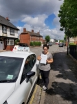 Becky Sims passed with Craig Polles Driver Training
