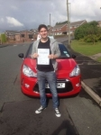 Ben Eagles passed with Craig Polles Driver Training