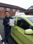 Benito passed with Craig Polles Driver Training