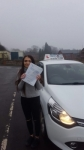 Beth Douglas passed with Craig Polles Driver Training