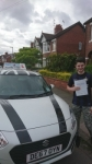Billy McConnell passed with Craig Polles Driver Training