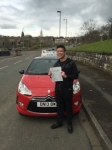 Brandon Liew passed with Craig Polles Driver Training