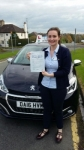 Bridget Kemball  passed with Craig Polles Driver Training