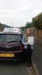 Caitlin Heath passed with Craig Polles Driver Training
