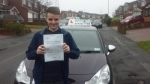 Callam Joyce passed with Craig Polles Driver Training