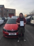 Callum Barker passed with Craig Polles Driver Training