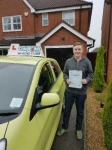 Callum Johnson passed with Craig Polles Driver Training