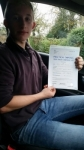 Calum Mcquade passed with Craig Polles Driver Training