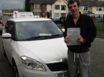 Carl Oates passed with Craig Polles Driver Training