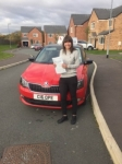 Charley Mancell passed with Craig Polles Driver Training