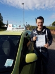 Charlie Horner passed with Craig Polles Driver Training