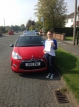 Charlotte Oliver passed with Craig Polles Driver Training