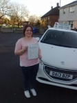 Chelsea Beech passed with Craig Polles Driver Training
