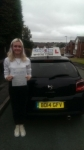 Chelsea Jade Brownsword passed with Craig Polles Driver Training