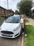 Chloe Ball passed with Craig Polles Driver Training