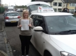 Chloe Kimberly passed with Craig Polles Driver Training