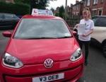 Chloe Matthews passed with Craig Polles Driver Training