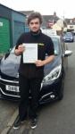 Chris Furnival  passed with Craig Polles Driver Training