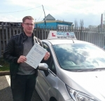 Christian Longshaw passed with Craig Polles Driver Training