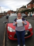Claire Barnes passed with Craig Polles Driver Training