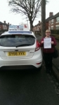 Clare Louise Robertson passed with Craig Polles Driver Training