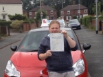 Coner Holloway passed with Craig Polles Driver Training