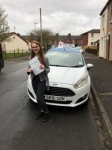Courtney Evans passed with Craig Polles Driver Training
