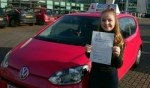 Courtney Orpe passed with Craig Polles Driver Training