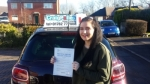 Courtney Taylor passed with Craig Polles Driver Training