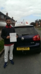 Dahud Mahmood passed with Craig Polles Driver Training