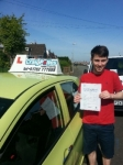 Dan Vickers passed with Craig Polles Driver Training